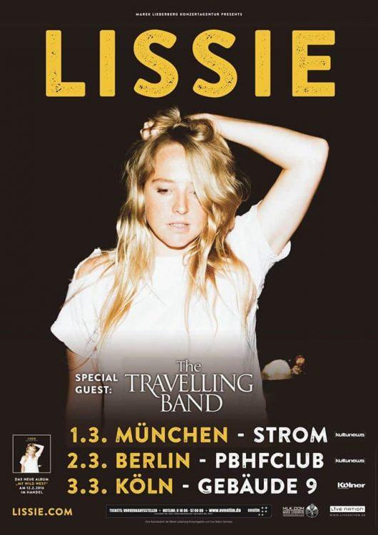 Lissie im März auf Tour