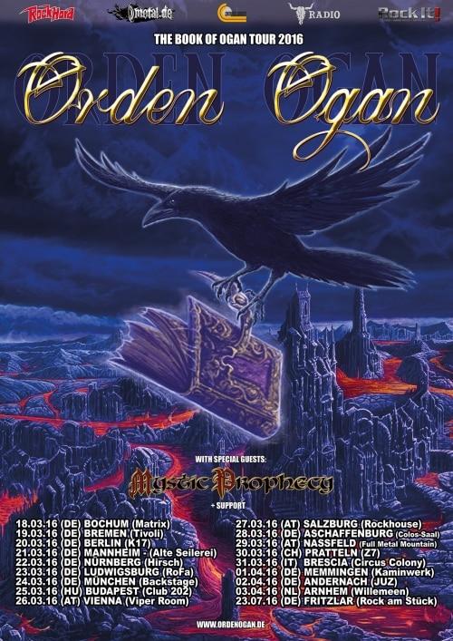 Orden Ogan - The Book Of Ogan Tour 2016