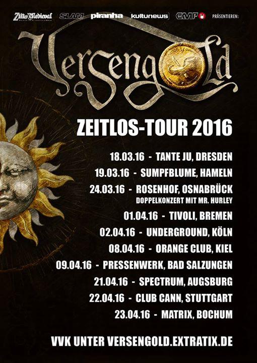 Versengold - Zeitlos Tour 2016