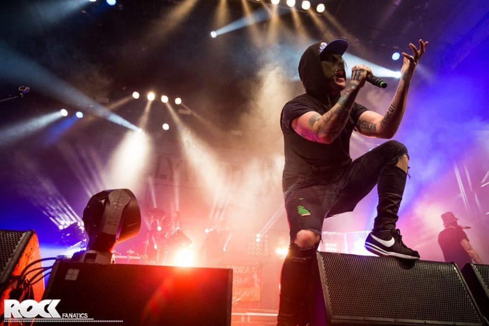 Hollywood Undead live im Palladium Köln. Foto: Steffie Wunderl