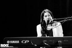 Vanessa Carlton live im Rahmen ihrer Liberman Tournee im Stadtgarten Köln. Foto: Steffie Wunderl