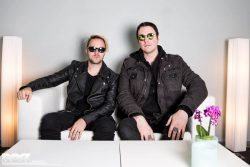 Benjamin Burnley und Keith Wallen von Breaking Benjamin im Interview. Foto: Steffie Wunderl