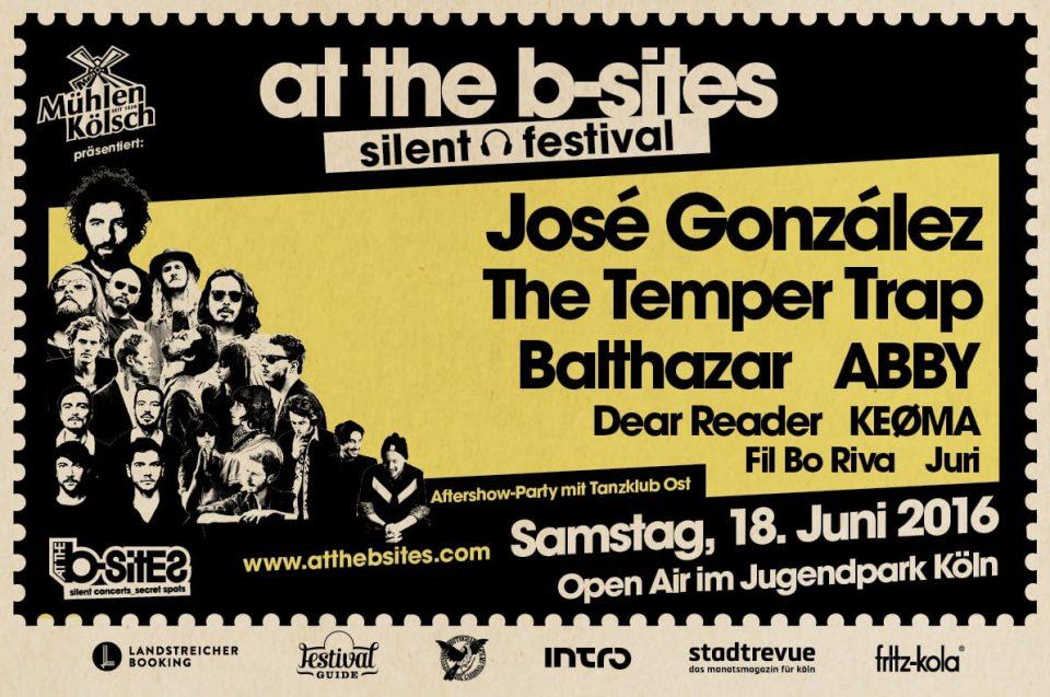 At The B-Sites Festival – 18.06.2016 – Jugendpark, Köln