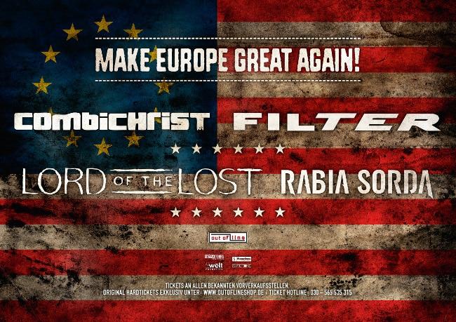 Filter – Crazy Eyes-Tour 2016/Make Europe Great Again