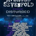 Avenged Sevenfold - Europa Tour 2017