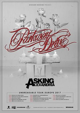 Parkway Drive - Unbreakable Tour 2017