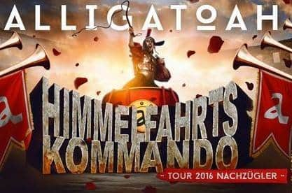 Alligatoah - Himmelfahrtskommando Tour 2016 Nachzügler