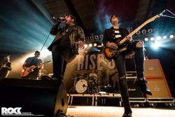 Silverstein live im Rahmen der Rise Up Tour 2016 in der Live Music Hall Köln. Foto: Steffie Wunderl