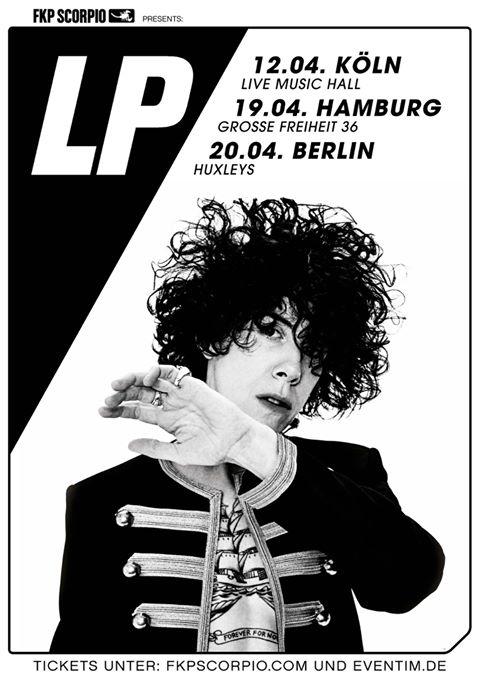 LP kommt für drei Termine nach Deutschland