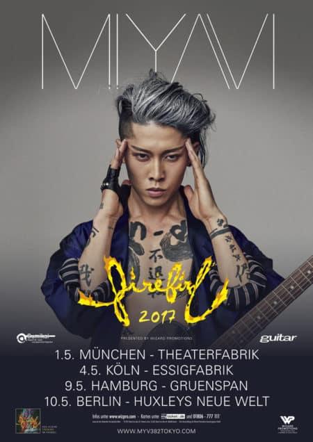 "Miyai ""Firebird"" Tour 2017"