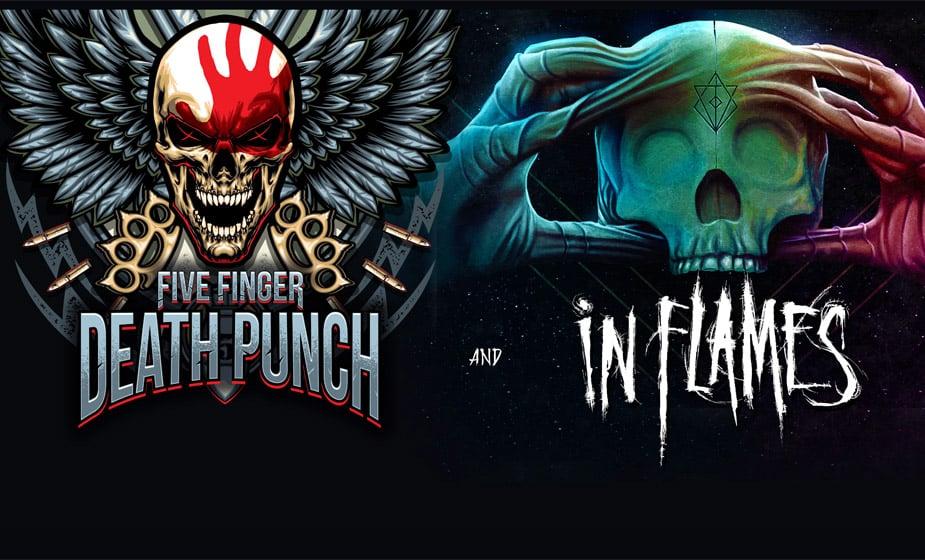 Five Finger Death Punch kommen zusammen mit In Flames auf Tour