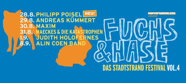 Fuchs & Hase – Das Stadtstrandfestival Vol. 4