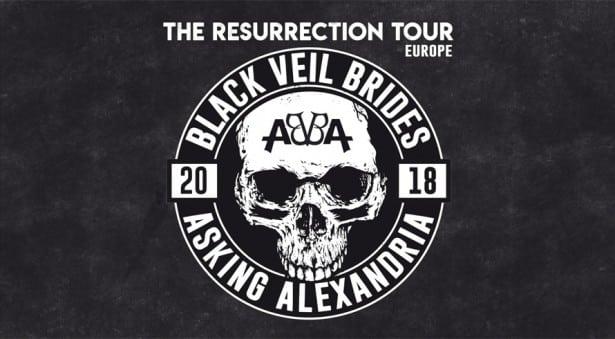 Black Veil Brides und Asking Alexandria – The Resurrection Tour 2018