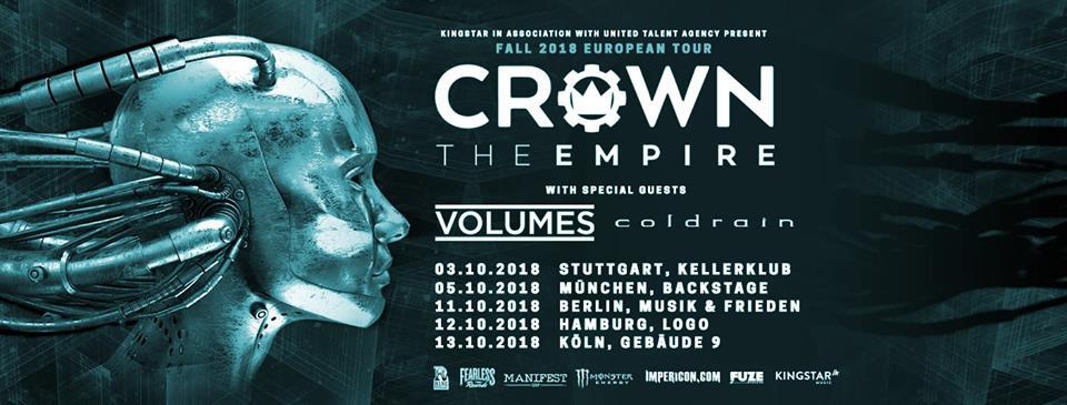 Crown The Empire - Tour 2018