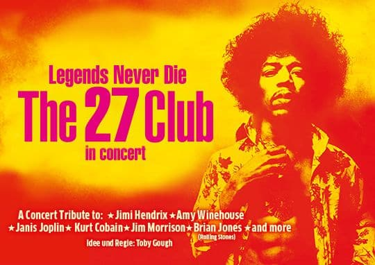 Legends never die - The 27 Club in concert