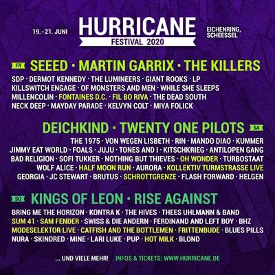 Hurricane Festival 2020: Die dritte Bandwelle