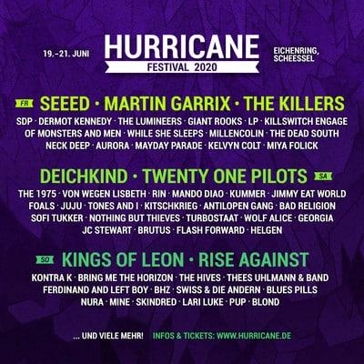Hurricane Festival 2020: Die zweite Bandwelle