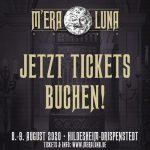 Mera Luna Festival 2020 - Ticket VVK